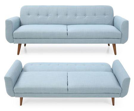 Диван-кровать от производителя Selina Цвет серо-голубой