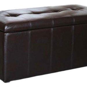 Банкетка-сундук в прихожую от производителя Dreambag Лонг Цвет коричневый