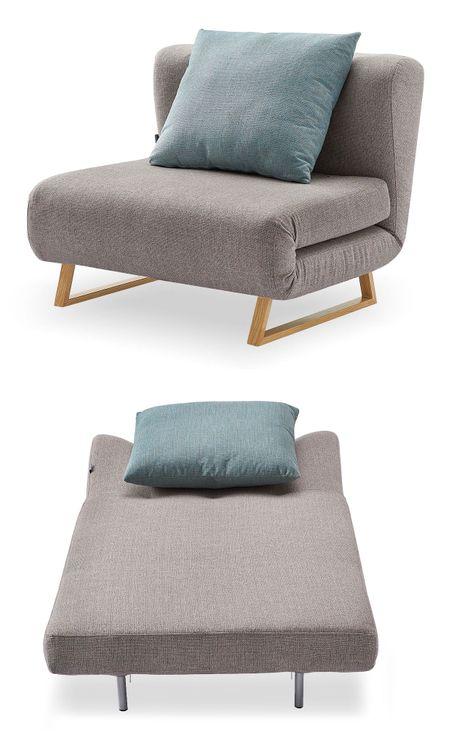 Кресло-кровать от производителя Rosy Цвет бежевый/мята