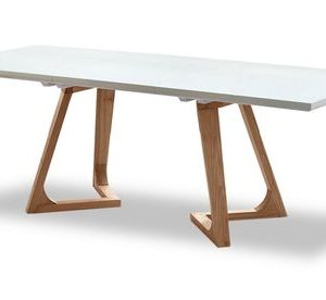 Стол раскладной от производителя Avalon (180) Цвет белый, ясень