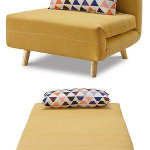 Кресло-кровать от производителя Flex Цвет желтый