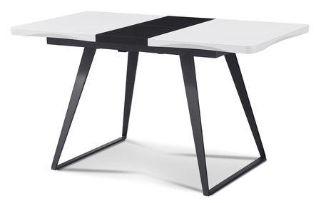 Стол раскладной от производителя Frankfurt 110-140 Цвет белый, черный