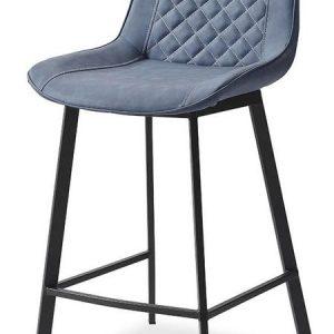 Стул полубарный от производителя Trix (65) Цвет синий/черный