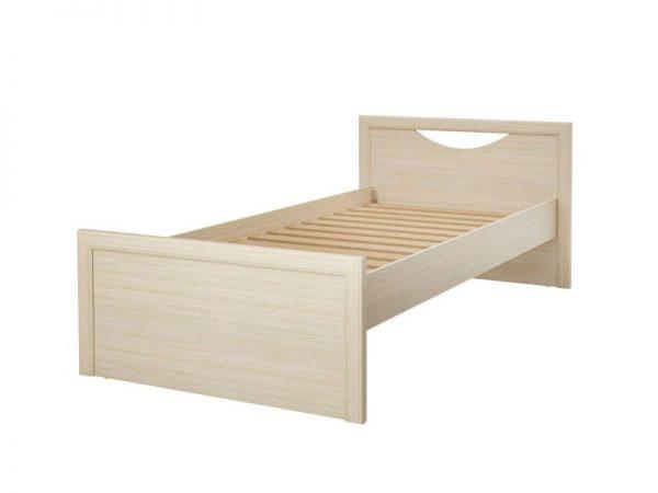 Односпальная кровать отпроизводителя Столлайн Дженни СТЛ.127.14-01 Cilegio Nostrano Цвет бежевый