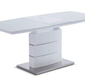 Стол раскладной от производителя Verona Glass (140) Цвет белый матовый