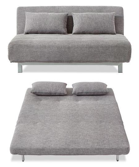 Диван-кровать от производителя Doris Цвет серый, хром