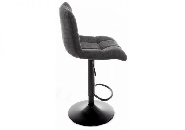 Барный стул мягкий от производителя Milton Цвет серый
