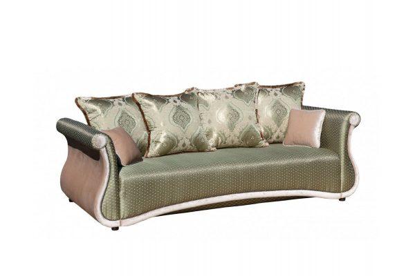 Диван кровать от производителя Дарем Люкс Цвет зеленый