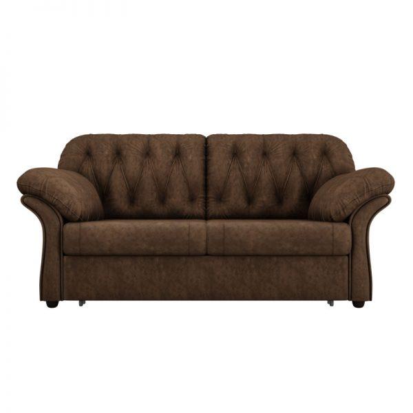 """Диван-кровать с механизмом трансформации """"выкатной"""" от производителя Мебелико Ванкувер Цвет коричневый"""