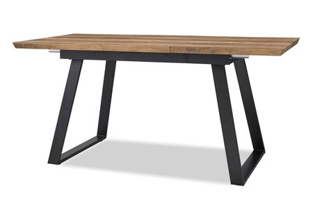 Стол раскладной от производителя Maryland 120-160 Цвет орех, черный