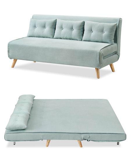 Диван-кровать от производителя Jeremy Цвет снежная мята