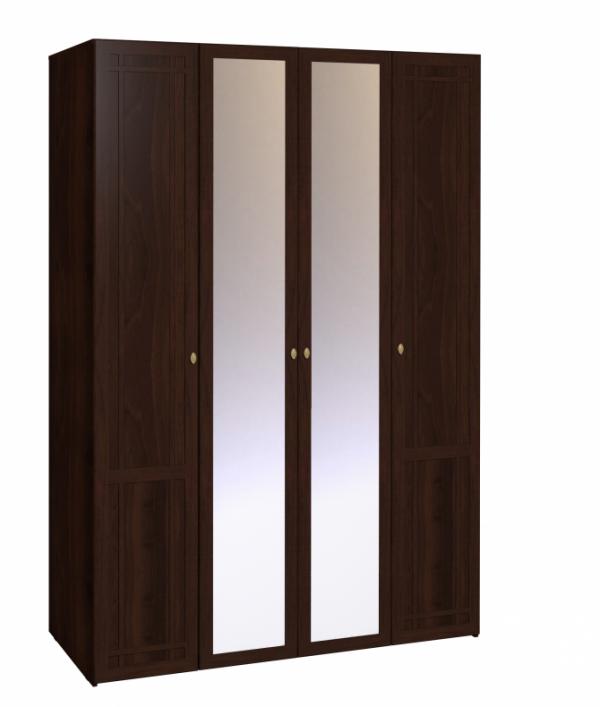 Шкаф платяной от производителя Глазов-Мебель Шерлок 60 Цвет орех шоколадный