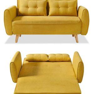 Диван-кровать от производителя Charm Цвет желтый