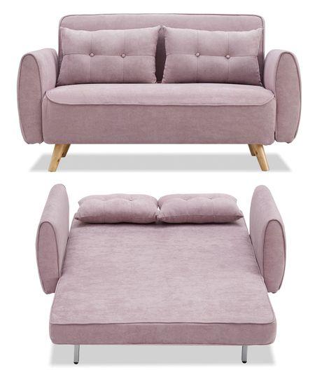 Диван-кровать от производителя Charm Цвет пепельная роза