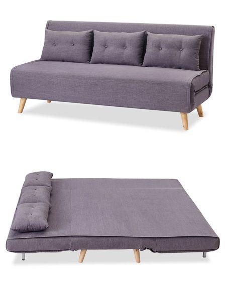 Диван-кровать от производителя Jillian Цвет лилово-серый