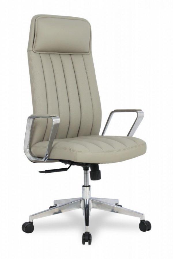 Кресло офисное кожаное College Цвет темно-серый HLC-2413L-1/Dgrey