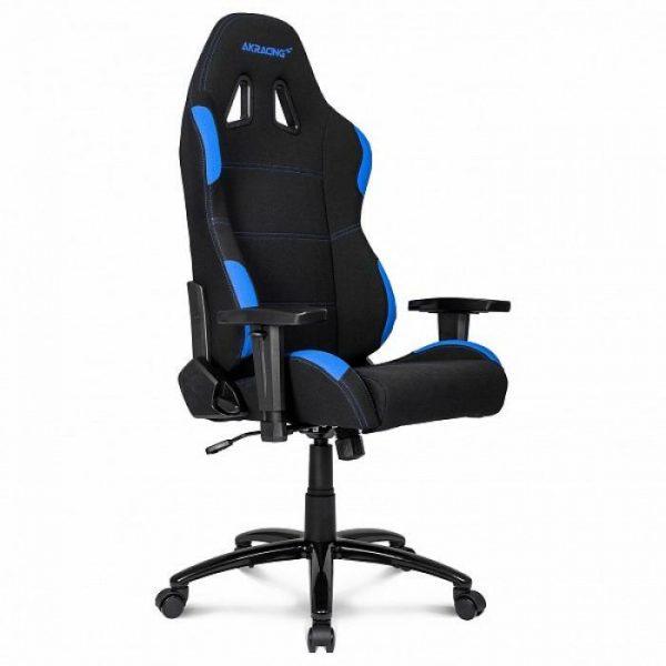 Кресло игровое от производителя AK Racing K7012 Цвет черный, голубой