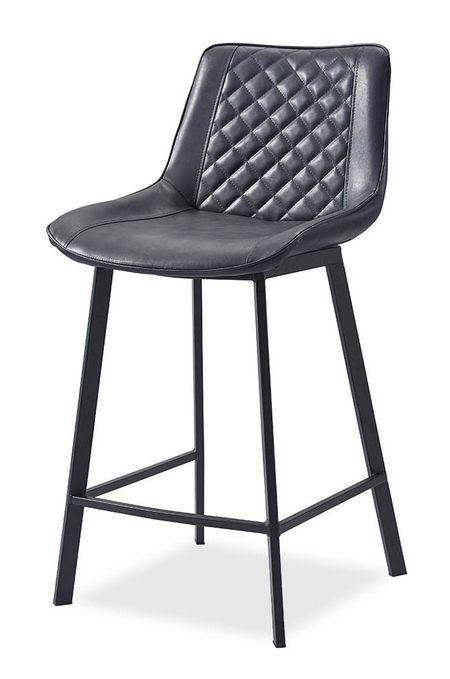Стул полубарный от производителя Trix (65) Цвет темно-серый, черный