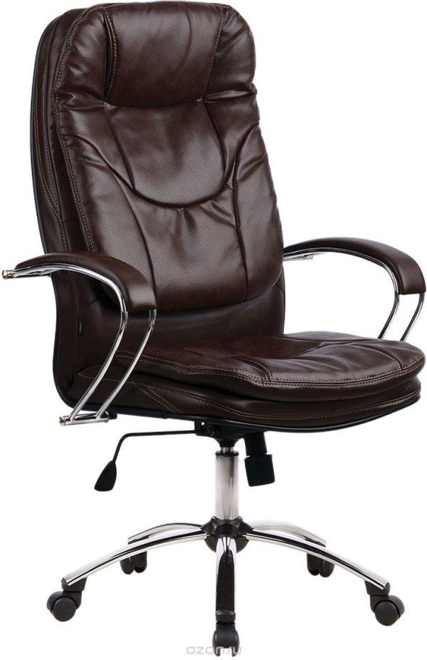 """Кресло офисное от производителя """"Метта"""" Цвет коричневый 85840"""