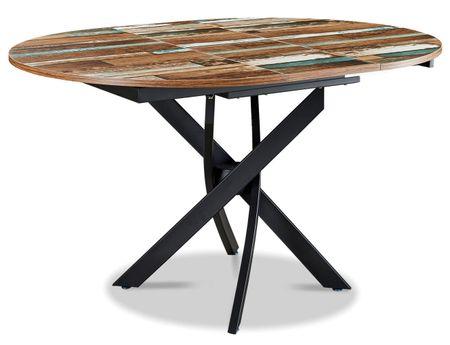 Стол раскладной от производителя Charly 100-129 Цвет мультиколор, черный