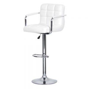 Барное кресло от производителя Caffe Collezione Kruger arm Цвет белый