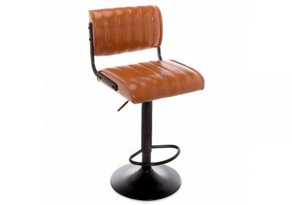 Барный стул от производителя Kuper loft Цвет коричневый