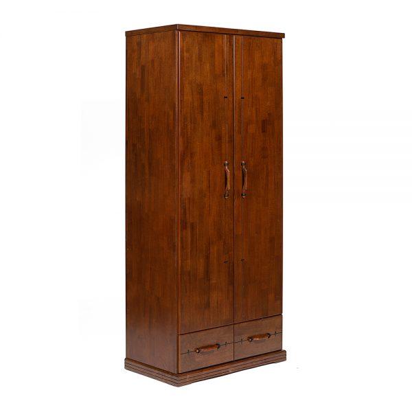 Шкаф платянной от производителя Tetchair Donato Цвет дуб темный