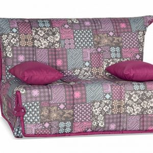Диван компактный Гейша (мини) цвет Серо-розовый