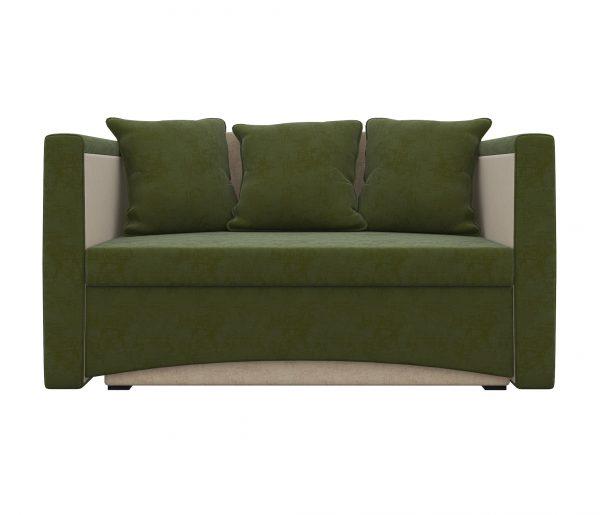 Диван-кровать от производителя Мебелико Принц выкатной Цвет зеленый