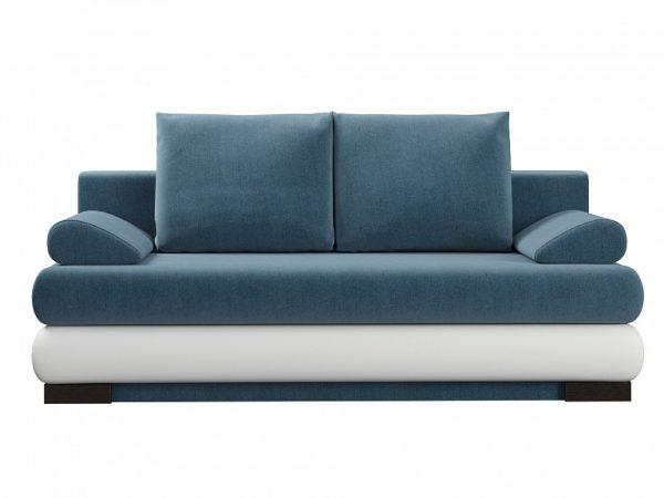 Диван-кровать от производителя WoodCraft Луиджи Цвет белый, голубой