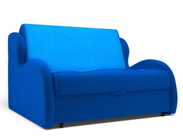 Диван кровать от производителя с раскладкой аккардеон Алан (120х195) Цвет синий, голубой