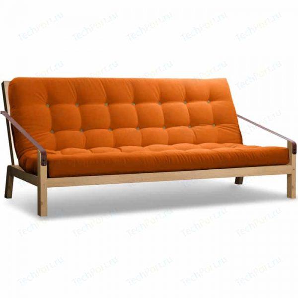 Диван-кровать с механизмом трансформации книжка от производителя Anderson Локи Цвет оранжевый