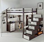 Двухэтажная кровать встроенная