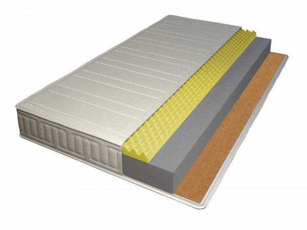 Двуспальный беспружинный матрас от производителя Классик-Орто 160х200