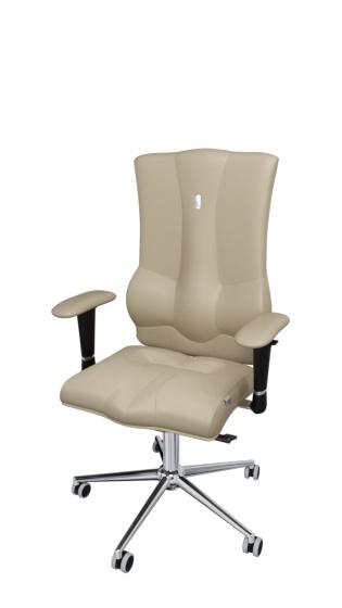 Эргономичное компьютерное кресло от производителя Kulik System Elegance Цвет песочный 1006