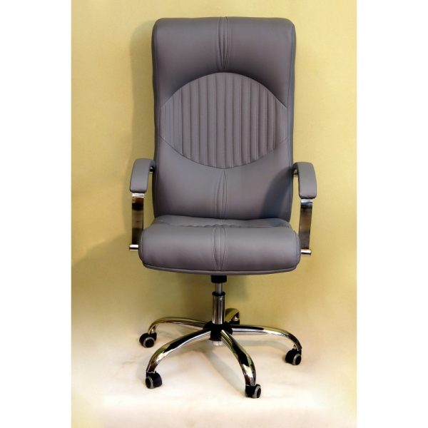 Компьютерное кресло от производителя Креслов Гермес Цвет серый