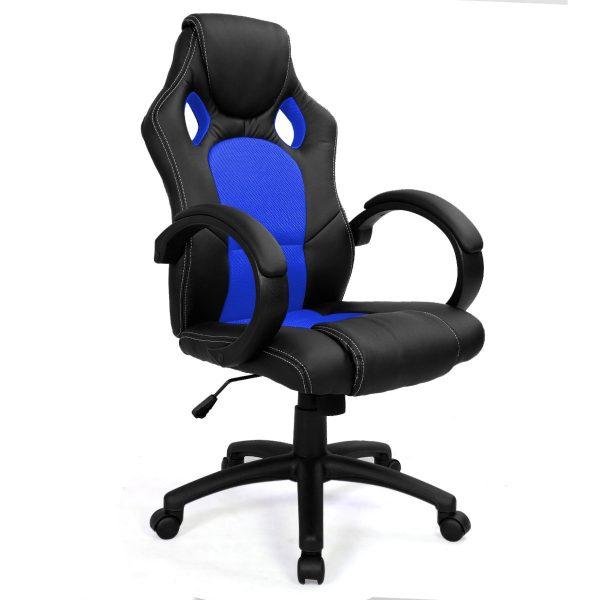 Компьютерное кресло от производителя Сostway ZK8033BLBL Цвет синий