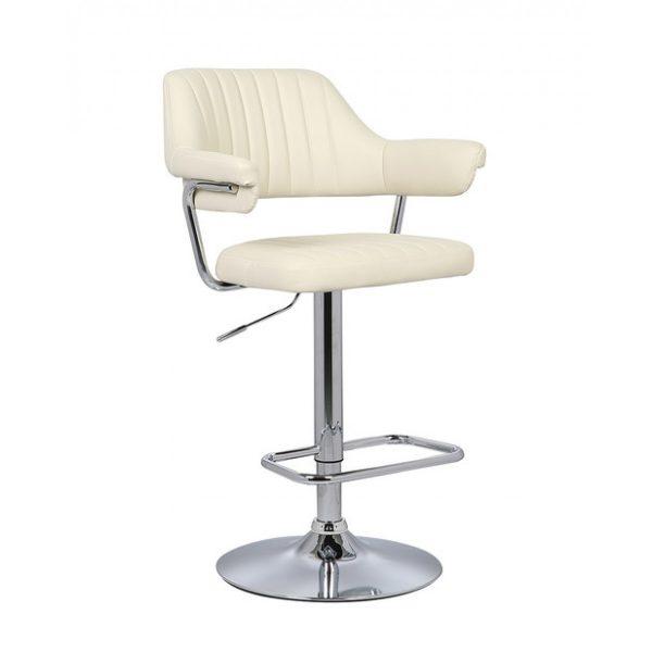 Кресло барное от производителя Avanti BCR-400 Цвет бежевый, хром