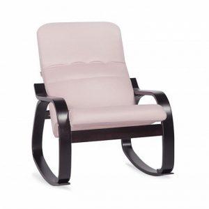 Кресло-качалка в современном стиле Оливер цвет Розовый