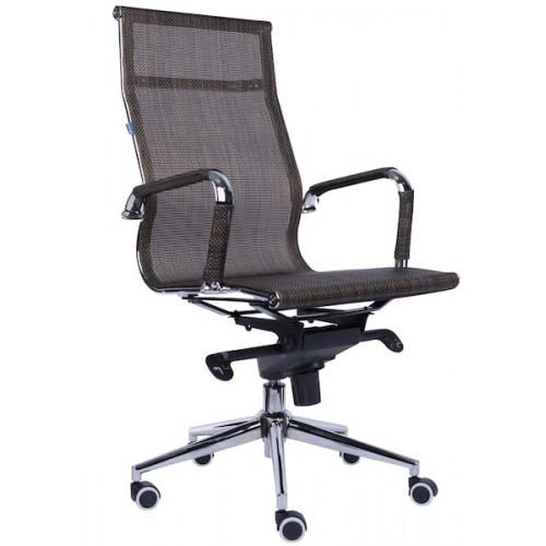 Кресло компьютерное от производителя Everprof Opera M EC-01Q Mesh Brown Цвет коричневый