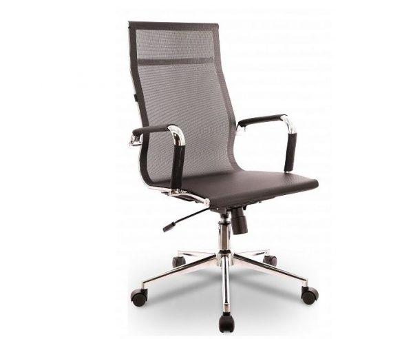 Кресло компьютерное от производителя Everprof Opera T EC-01Q T Mesh Black Цвет хром