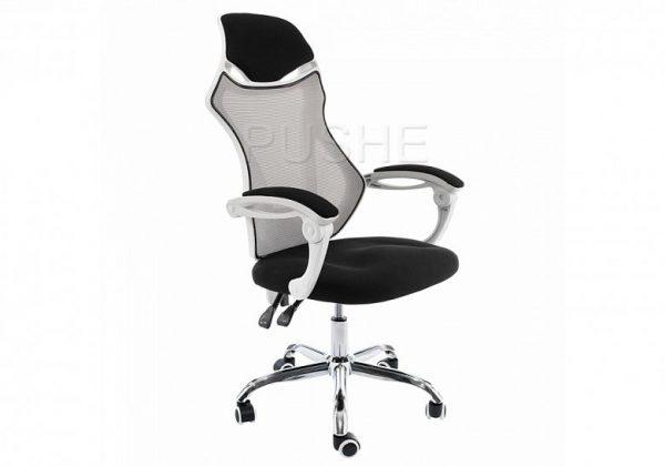 Кресло компьютерное от производителя Woodville Armor Цвет белый, черный