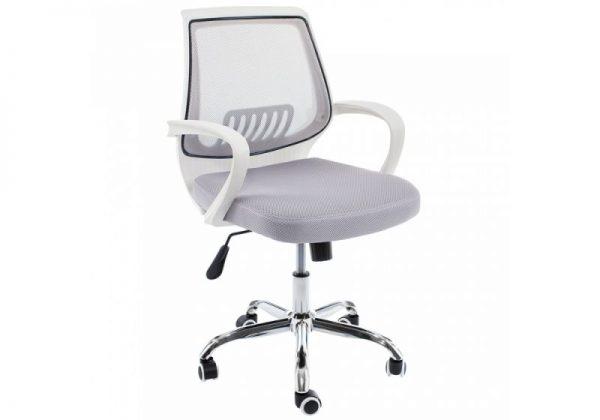 Кресло компьютерное от производителя Woodville Ergoplus Цвет белый
