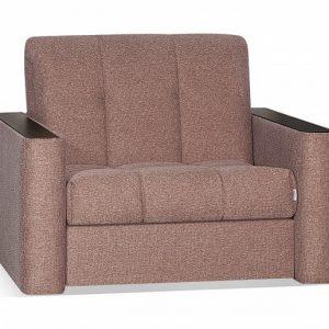Кресло-кровать с механизмом трансформации Аккордеон Сидней цвет Медный