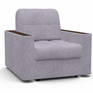 Кресло-кровать с механизмом трансформации Аккордеон Сидней цвет Светло-сиреневый