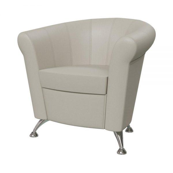 Кресло мягкое от производителя Гранд-Кволити Лагуна 6-5116 Цвет бежевый