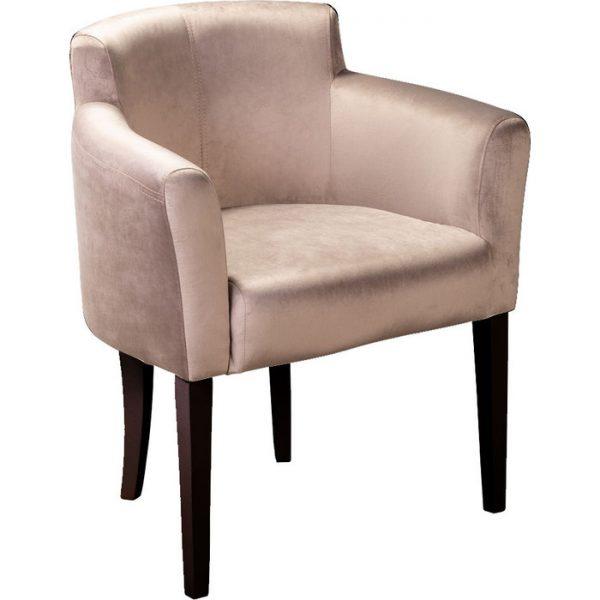 Кресло мягкое от производителя Ресторация Камилла Цвет сильвер