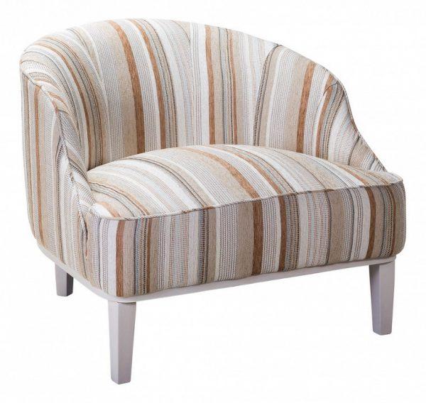 Кресло мягкое от производителя Ресторация Мидленд Цвет бежевый