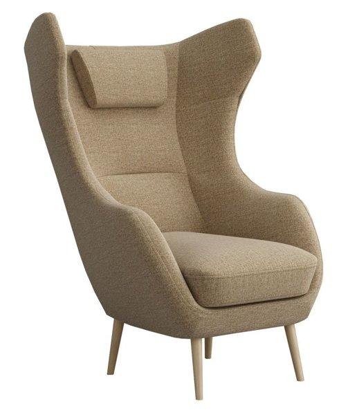 Кресло мягкое от производителя Ресторация Сканди-2 Цвет коричневый