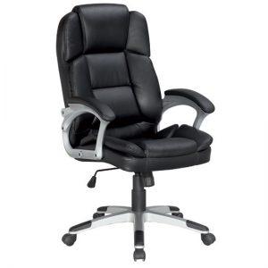 Кресло офисное с регулировкой под вес College «BX-3323» цвет черный